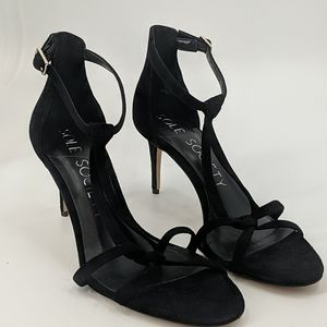 NWT SOLE SOCIETY Suede Strappy Heels